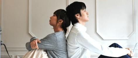 結婚を悩む男女