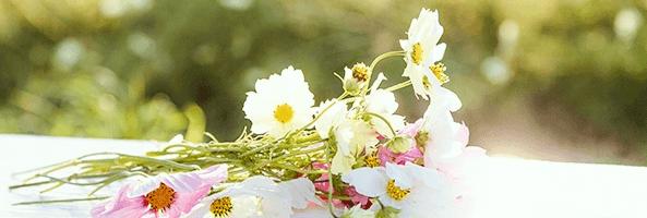 結婚を意識した花束